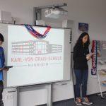 Schule ohne Rassimus Schule mit Courage - Ansprache von Kevin und Sema SchlerInnen der Klasse R9