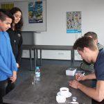 Schule ohne Rassimus Schule mit Courage - Autogrammstunde mit Philip Riefers II
